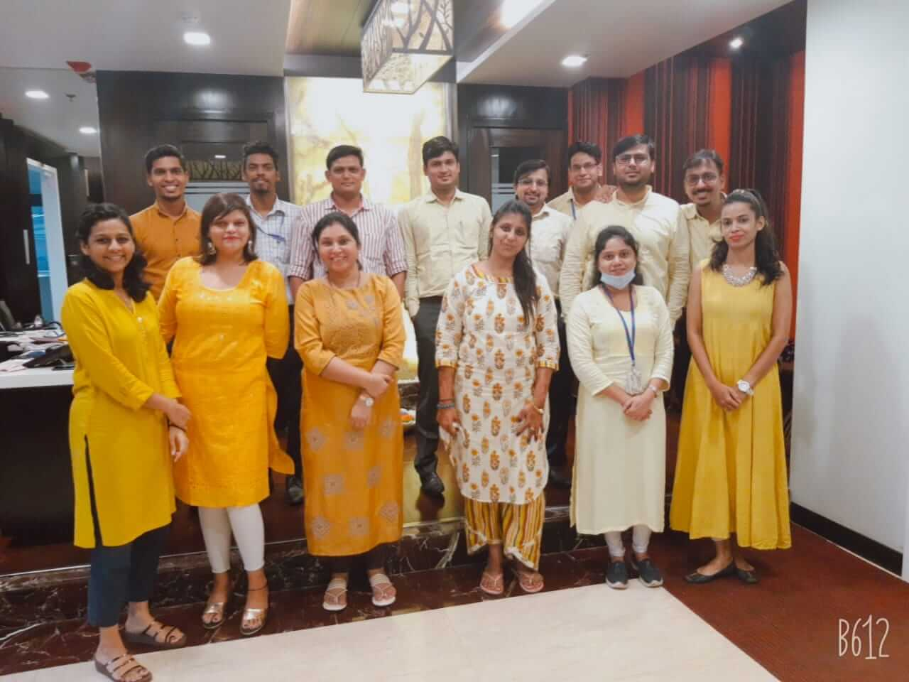 Navratri Yellow Day